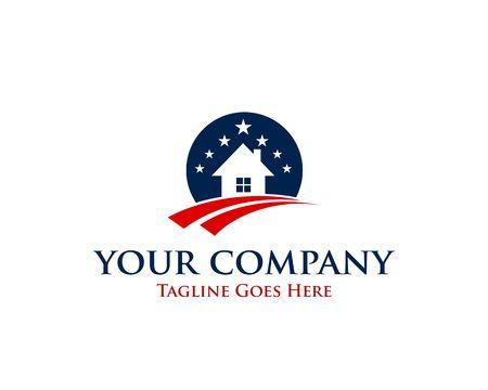 Veteran real estate company icon.