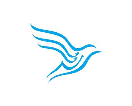 Abstract Bird vector Ilustração