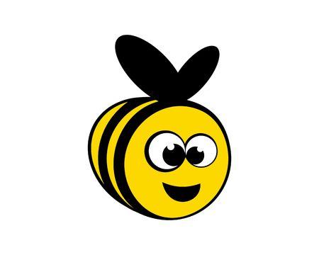 bee cute cartoon Banco de Imagens - 106620730