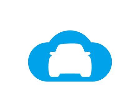 Cloud Car Banco de Imagens - 133335946