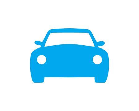 Car Icon silhouette Banco de Imagens - 133335944