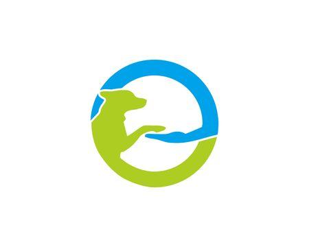 Canine care logo