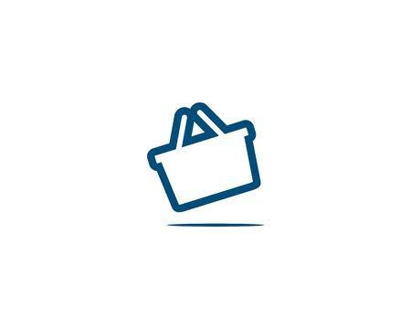Cart shop logo Banco de Imagens - 136621354