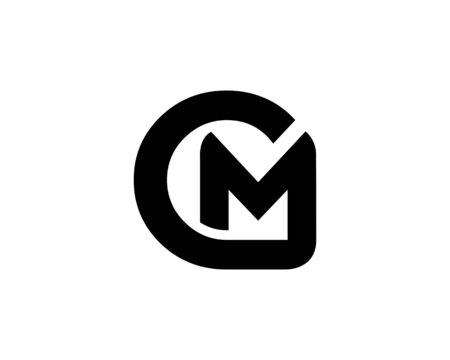 CM logo vector Ilustração