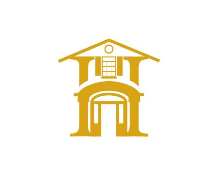 Home classic logo Banco de Imagens - 136621372