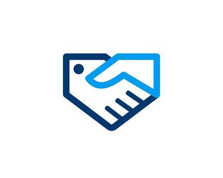 Coupon Deal logo Ilustração