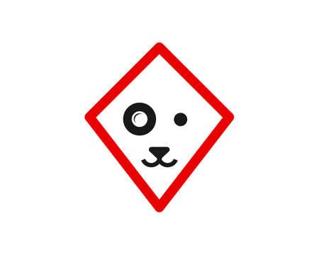pet kite logo vector Ilustração