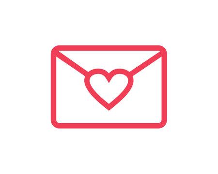 mail love simple logo