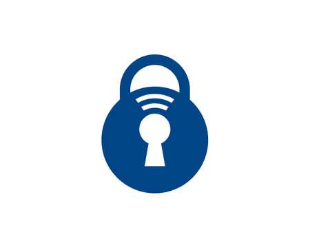 protect your connection logo Ilustração
