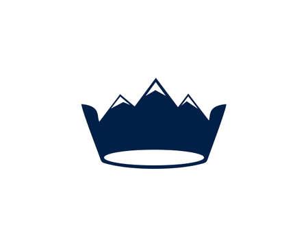 mountain crown illustrations