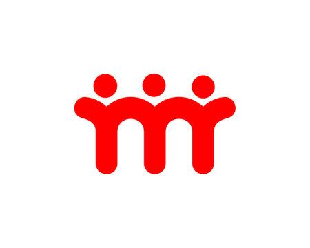 community connection logo vector