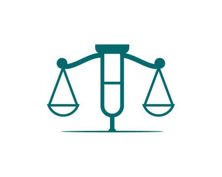 injury lawyers logo vector