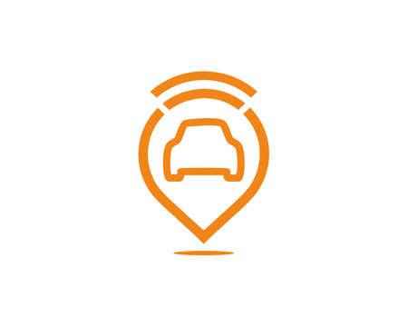 search car position logo icon