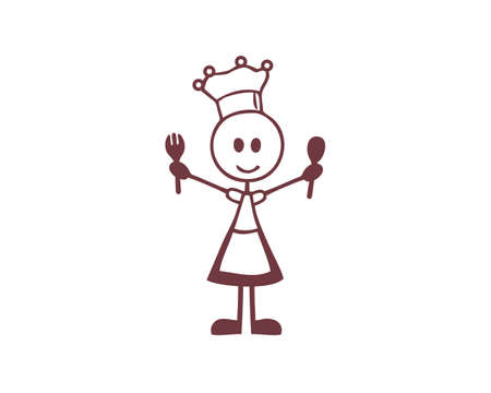 miss cooking stick figure