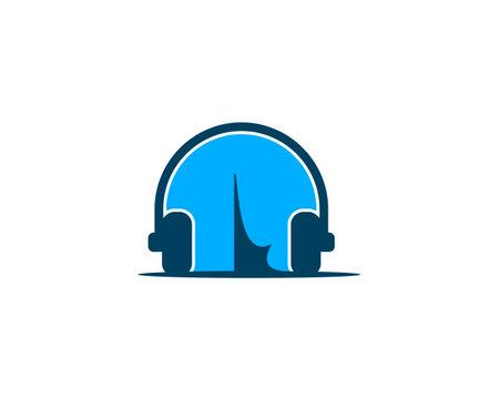 music camp simple logo