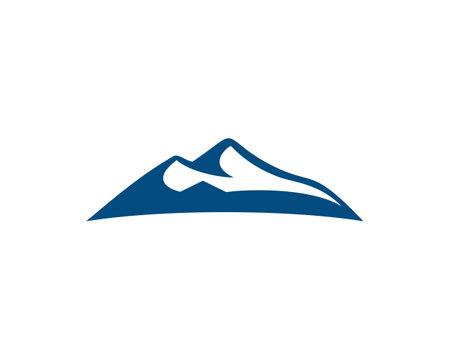 mountain silhouette vector Ilustração
