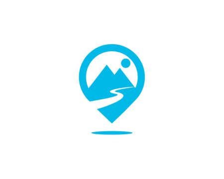 Mountain guide logo