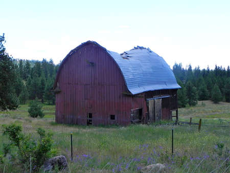 old red barn: The Old Red Barn