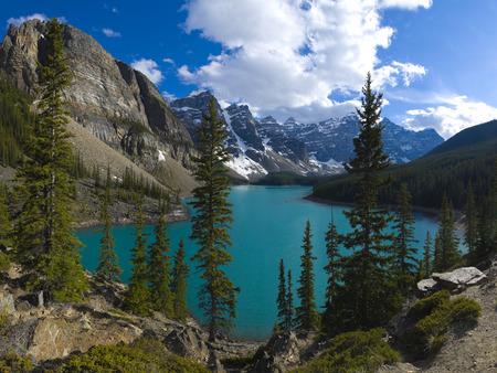 Large file size, Moraine Lake, Banff National Park, Alberta, Canada Reklamní fotografie