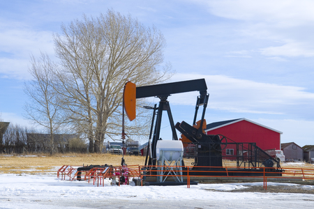 Oil and Gas industrial background