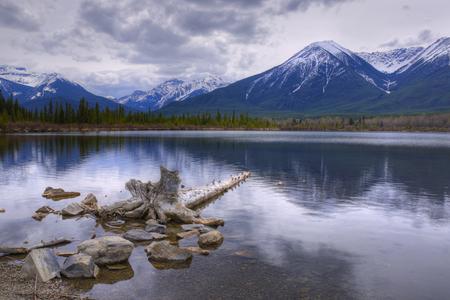 Vermilion Lake, Banff National Park, Alberta, Canada Reklamní fotografie