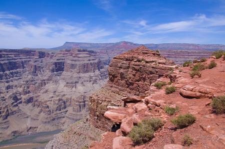 Guano Point in Grand Canyon Reklamní fotografie