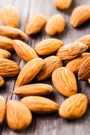 heap of almonds Stock fotó