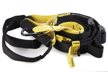 rolled functional training straps