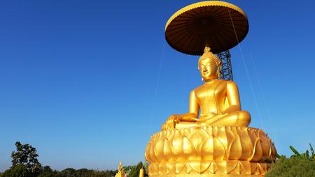 doctrine: Golden Buddha Statue in Thailand