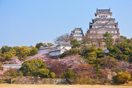 osaka: Himeji castle in Japan Editorial