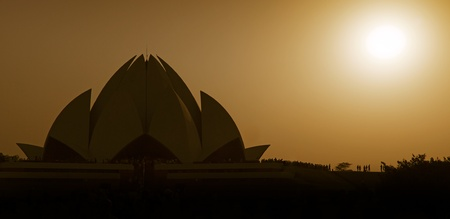 Bahai House of Worship in India