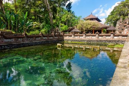 hinduist: Beautiful hinduist temple in Bali, Indonesia Stock Photo