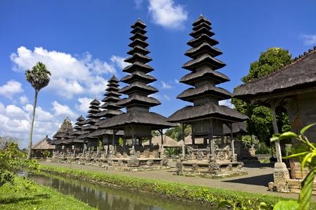 south east asia: Pura Taman Ayun Temple in Bali, Indonesia Stock Photo