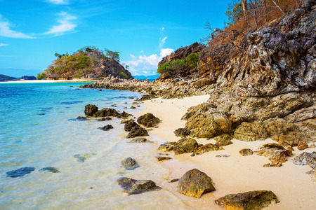 palawan: Bulog Island, in Palawan, Philippines Stock Photo
