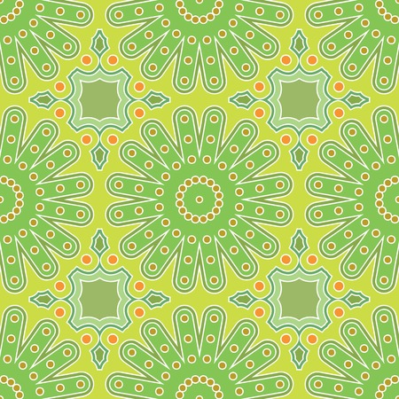 Seamless tracery for backgrounds or other various creative purposes Illustration