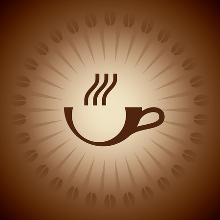 quencher: Coffee cup. Vector illustration Illustration