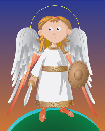 angelo custode: Angelo custode permanente sulla protezione