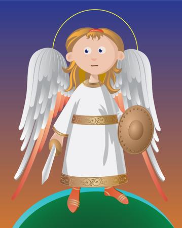 angel de la guarda: �ngel Guardi�n permanente sobre la protecci�n