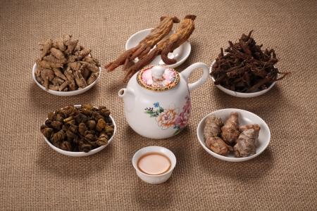 Chinese medicine, herbs photo