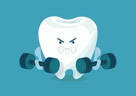 강한 치아