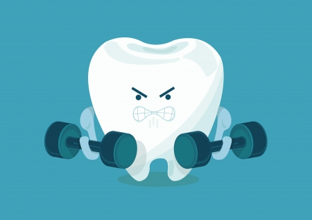 braces: strong tooth