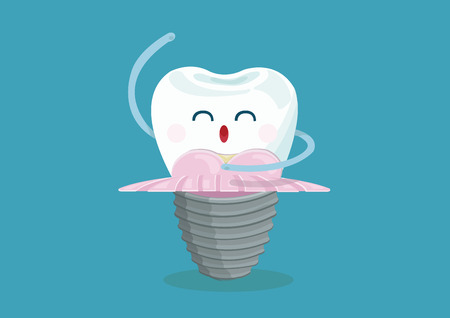 false tooth