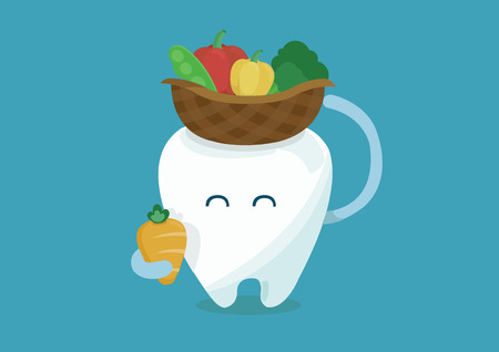 vegetables of tooth for healthy Imagens - 26622085