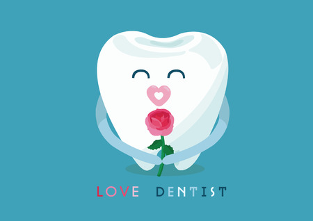 love dentist from tooth 免版税图像 - 26622086