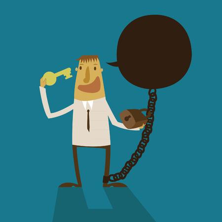 negative thinking: d�charge d'affaires pens�e n�gative