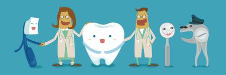 Family of dental Vector