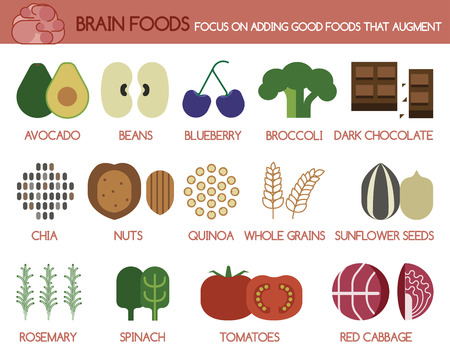 spinach: Brain foods focus on adding good foods that augment