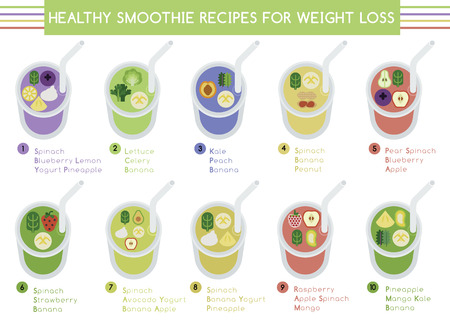 smoothie: Healthy smoothie recipes for weight loss