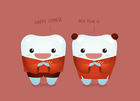 Happy Chinese New Year of dental