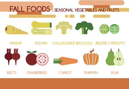 sprouts: Fall foods seasonal vegetables and fruits